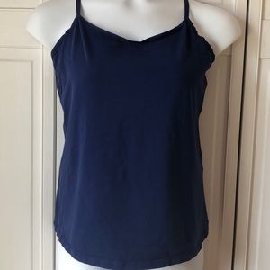 Lane Bryant deep blue cotton camisole, 18/20